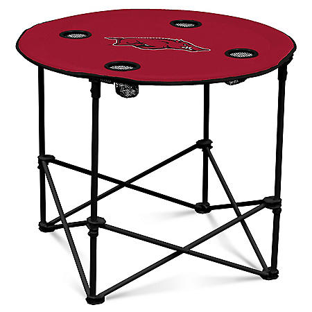NCAA Round Folding Table - Choose Your Team