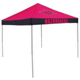 9x9 NCAA Arkansas Canopy