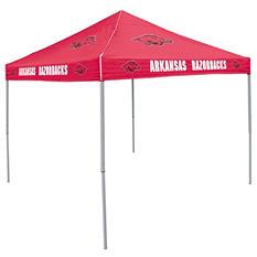 9x9 NCAA Arkansas Red Canopy