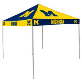 Licensed 9' x 9' Checkerboard Canopy - Choose your Team