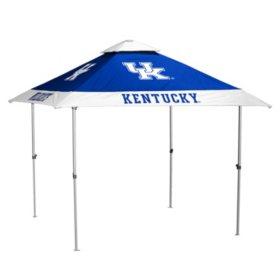 NCAA 10'x10' Pagoda Canopy (no lights) - Choose your team