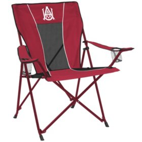 Surprising Ncaa Portable Folding Tailgate Chair Choose Your Team Unemploymentrelief Wooden Chair Designs For Living Room Unemploymentrelieforg