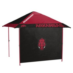 NCAA Pagoda Tent with Colored Frame and Side Panel