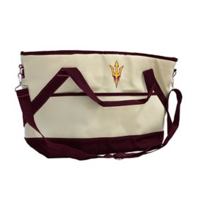 NCAA Canvas Cooler Tote - Choose Your Team