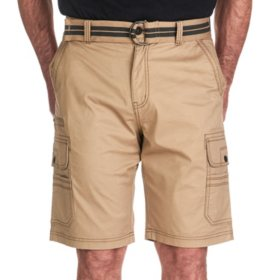 Iron Belted Stretch Twill Cargo Short