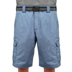 "Iron Clothing Men's ""BUTCHER"" Belted Stretch Micro Ripstop Cargo Short"