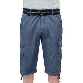 "Iron Clothing Men's ""PEYTA"" Belted Lightweight Cargo Messenger Length Short"