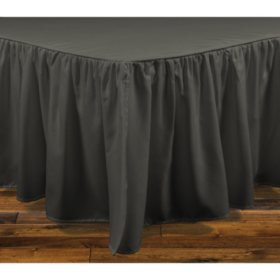 Brielle Honeycomb Bedskirt (Assorted Sizes and Colors)