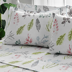 Brielle Gardenia Duvet Cover Set with Extra Pillowcases