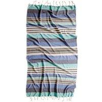 "Brielle Home Samira Traditional Turkish Peshtemal/Hammam Spa Towel, 39"" x 70"" (Assorted Colors)"