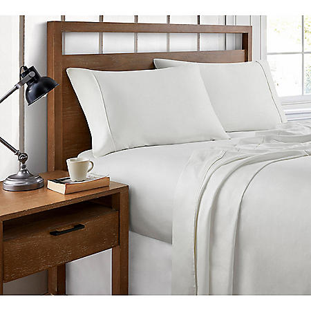 Brielle Home 400 Thread Count Ultra Fine Cotton Sheet Set (Various Sizes and Colors)