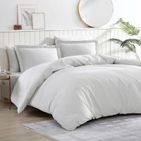 Brielle Home Pierce Waffle Comforter Set (Various Sizes and Colors)