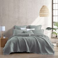 Brielle Home Ravi Stonewashed Quilt Set (Assorted Colors and Sizes)