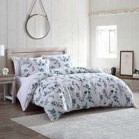 Brielle Home Gardiner Cotton Floral Printed Comforter Set (Assorted Sizes)
