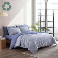 Reborn Montauk Recycled Fiber Reversible Comforter Set (Assorted Sizes and Colors)