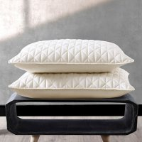 Valeron Palermo Tencel Modal Luxury Performance Quilted Sham Set (Assorted Colors & Sizes)