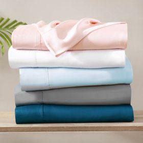 Brielle Home Tencel Lyocell Sateen Pillowcase Set (Assorted Colors & Sizes)