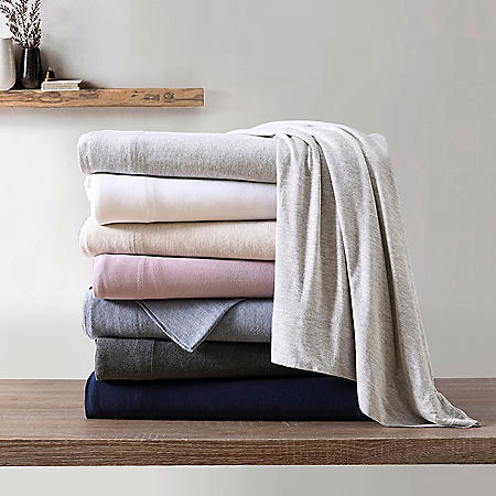 Brielle Home Tencel Modal Jersey Knit Pillowcase Set (Assorted Colors & Sizes)