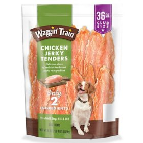 Purina Waggin Train Chicken Jerky Dog Treats (36 oz.)