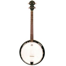 Trinity River Tenor 4  String Banjo