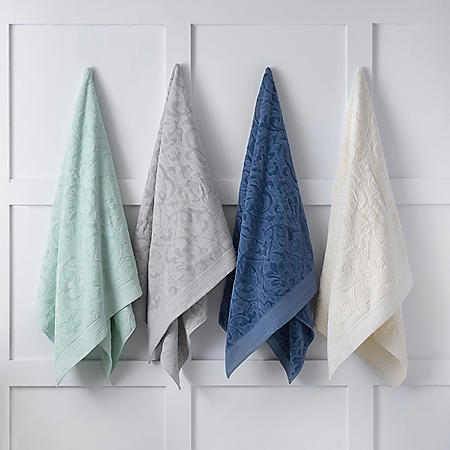 Martha Stewart Sculpted Hand and Wash Towels (Various Colors)