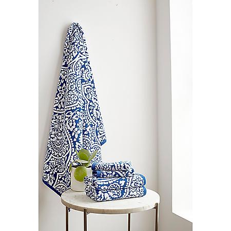 Martha Stewart 2-Piece Bath Towel Set (Various Colors)