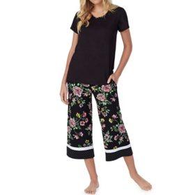 Kensie Ladies Capri Pajama Set