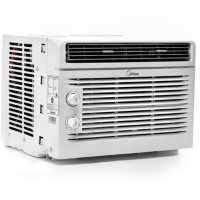 Midea 5,000 BTU Room Window Air Conditioner, Mechanical Control, DOE