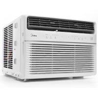 Midea 6,000 BTU Room Window Air Conditioner, Remote Control, Energy Star