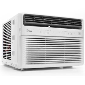 Midea 6,000 BTU Room Window Air Conditioner, Remote Control, Energy Star
