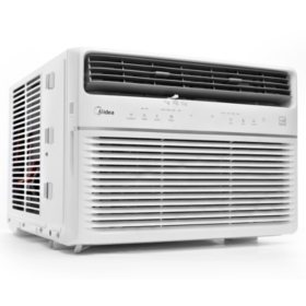 Midea 8,000 BTU Room Window Air Conditioner, Remote Control, Energy Star w/Wifi & Voice Control