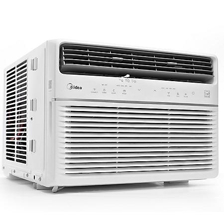 Midea 10,000 BTU Room Window Air Conditioner, Remote Control, Energy Star w/Wifi & Voice Control