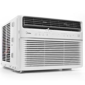 Midea 10,000 BTU Room Window Air Conditioner, Remote Control, Energy Star w/Wifi & Voice Control
