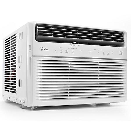 Midea 12,000 BTU Room Window Air Conditioner, Remote Control, Energy Star w/WiFi & Voice Control