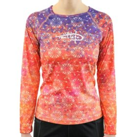 287640ec Reel Life Ladies Long Sleeve UV Tee