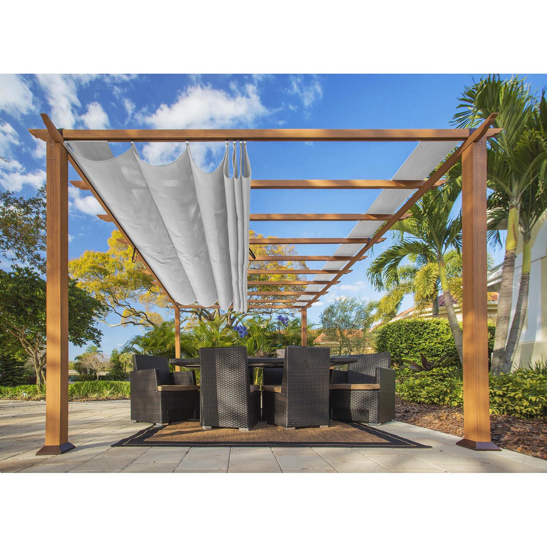 Paragon Outdoor 11′ x 16′ Canadian Cedar Pergola