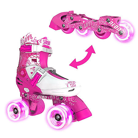 NEON 2-in-1 Combo Skates with Light-up Wheels