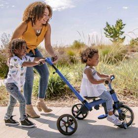 Yvolution Y Velo Flippa 4-in-1 Toddler Trike to Balance Bike, Ages 2-5