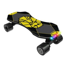 SWAGTRON Swagskate NG3 Electric Skateboard for Kids with Kick-Assist and Smart Sensors