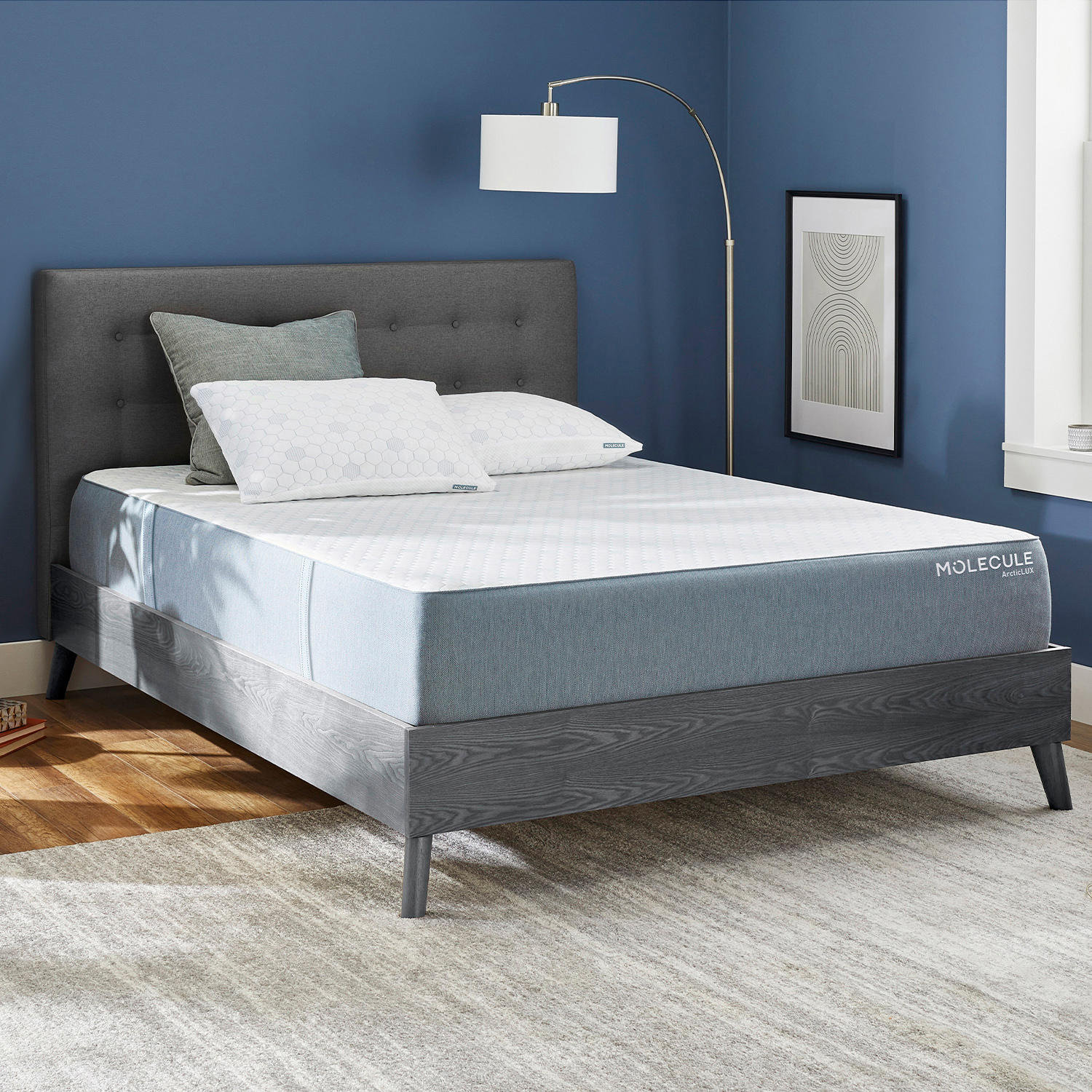Molecule ArcticLUX 12 Inch Cooling Antimicrobial Twin Mattress