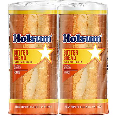 Holsum Butter Bread (40 oz., 2 pk.)
