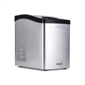 NewAirCountertop Nugget Ice Maker in Stainless Steel