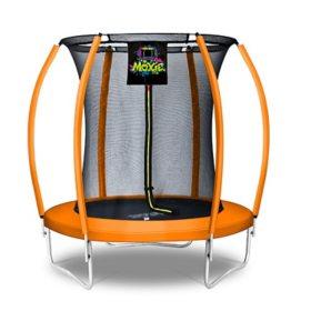 Moxie Pumpkin-Shaped 6' Trampoline with Enclosure Net