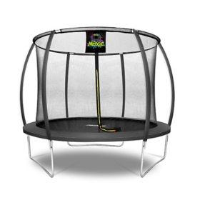 Moxie Pumpkin-Shaped 10' Trampoline with Enclosure Net