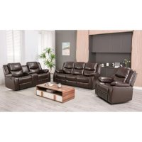 Deals on Ebello Home Lawrence 3-Piece Reclining Set