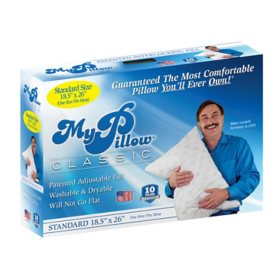 MyPillow Classic Series Standard Size Bed Pillow