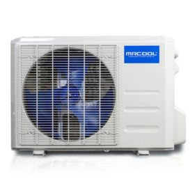 DIY 3rd Gen 12,000 BTU 22 SEER Energy Star Ductless Mini-Split AC and Heat Pump with 25' Install Kit - 115V