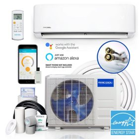 Diy 3rd Gen 18 000 Btu 20 Seer Energy Star Ductless Mini Split Ac