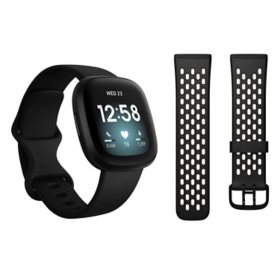 Fitbit Versa 3 Bundle (Choose Color)