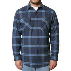 Anchorage Expedition Men's Brawny Flannel Shirt